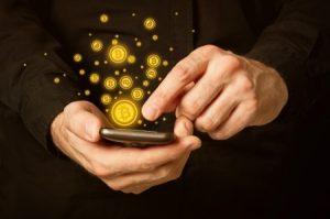 bitcoin kjøp med mobil